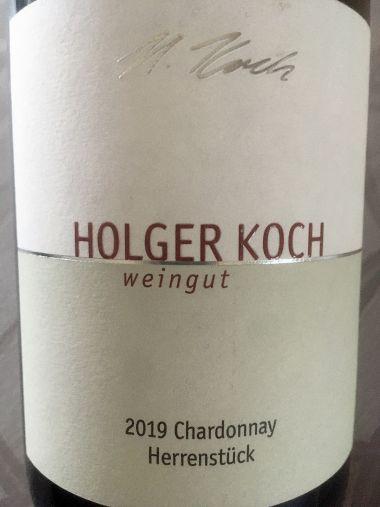 2020 Chardonnay Herrenstück trocken Weingut Holger Koch